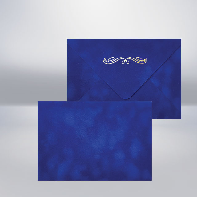 C6 Бархатний конверт iris